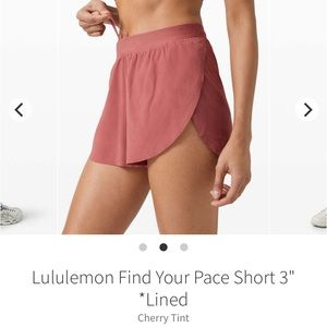 Find your Pace short